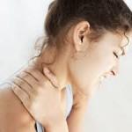 last van gespannen schouders en nek