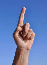 afbeelding wijsvinger